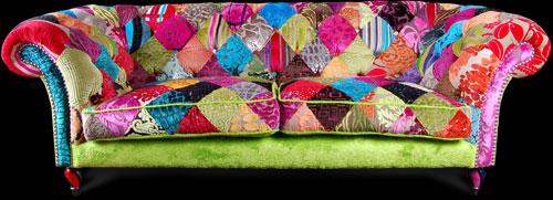 Patchwork Sofa From Ginny Avison Designs Ltd