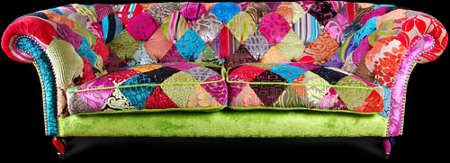 Patchwork Sofa From Ginny Avison Designs Ltd